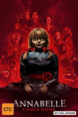Annabelle Comes Home (Blu-ray) (2019) (Region B) New Release