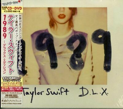 Taylor Swift-1989 -Deluxe Edition-Japan Cd+Dvd G88