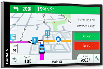 "Garmin DriveSmart 61 LMT-S, 6.95"" GPS Navigator, Free Map & Traffic Updates"