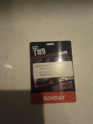New York Comic Con 2019 Sunday Pass **Activated Ready To Ship**