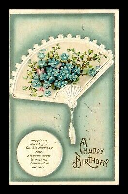 Dr Jim Stamps Us Happy Birthday Embossed Fan Greetings Topical Postcard