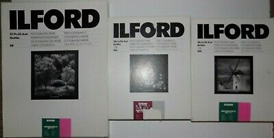 Ilford Multigrade MGIV FB  Paper Lot Photography Glossy Fiber