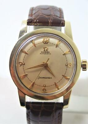 Vintage 14k Gold Cap OMEGA SEAMASTER Automatic Watch Cal 354 c.1950s 25577-22