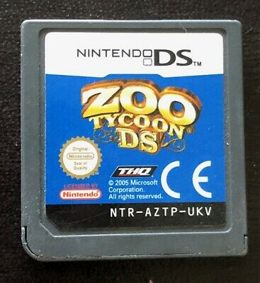 Zoo Tycoon DS for Nintendo DS/3DS Used