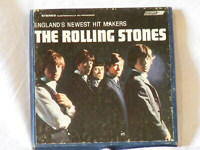 The Rolling Stones reel to reel tape VG audio & good cover cond