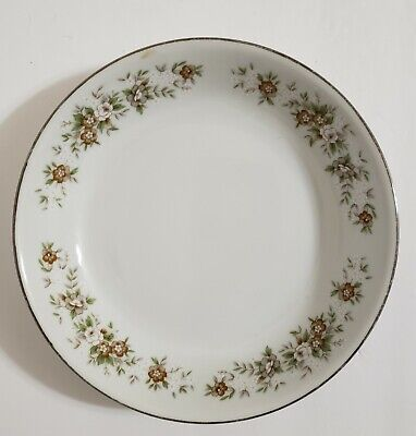 """Antique Diamond China """"Suffolk"""" Plate Made in Japan 7.5"""" W  x 1.5 H"""
