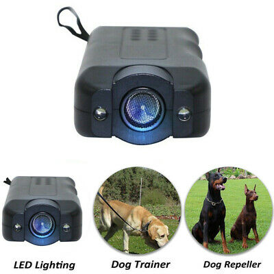 LED Light Ultrasonic Gentle Chaser Petgentle Style Anti Dog Barking Pet Trainer