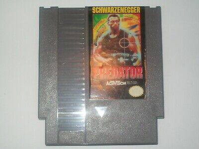 Predator (Nintendo Entertainment System) NES Schwarzenegger Cart Cartridge Game