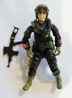 GI Joe 1988 Night Force Crazy Legs Figure C-9+ clean 100% complete TRU vintage