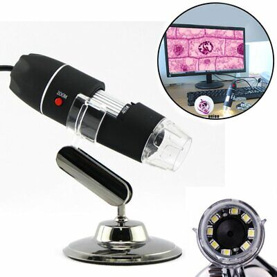 1000x 8LED USB Digital Microscope Endoscope Magnifier Electronic Video Camera AU