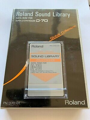 Roland PN-D70-01 D-70 LA Synthesizer Global Collection Library Data Rom