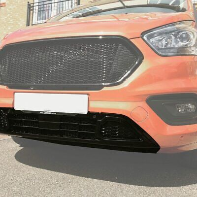 Ford Transit Custom New Shape Front Lower Grille Honeycomb Sport