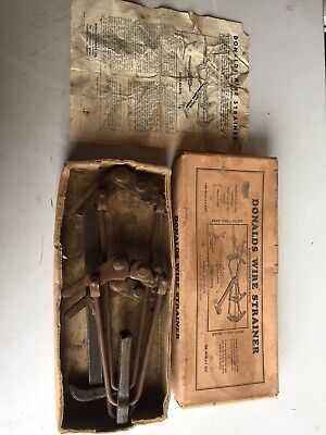 Vintage Donalds Wire Strainer. With Box & Instructions.