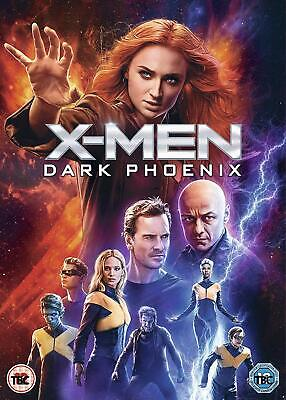 X-MEN: DARK PHOENIX - Sophie Turner 2019 [DVD][Region 2] Sent Sameday*