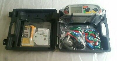 MEGGER 1710 MFT Multi Function Tester Meter.* Tested with Cal Card. *