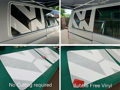 Fits VW T5 T6 T32  Transporter Camper Kombi side Panel Decals Stickers Graphics