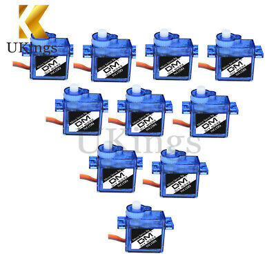 10PCS Mini Micro 9G SG90 Servo For RC Robot Helicopter Airplane Car Boat