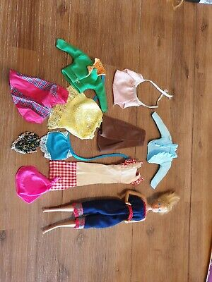 Barbie doll and cloths