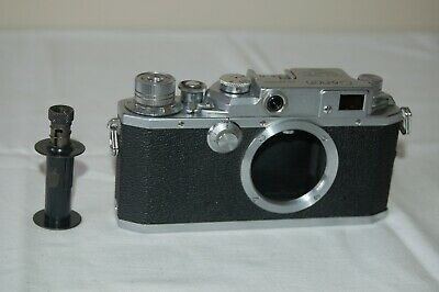 Canon 2D2 Vintage 1955 Japanese Rangefinder Camera. Service. No.220540. UK Sale