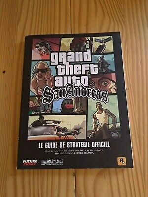 Guide stratégique officiel Grand Theft Auto San Andreas PlayStation 2