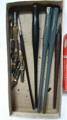 Artists Set CALLIGRAPHY SET - 10 nibs & 3 pen holders Lettering