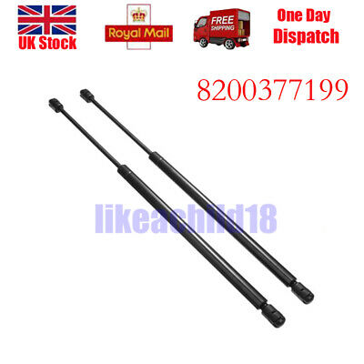2X For Renault Megane Scenic 2003-2008 Gas Tailgate Boot Support Struts E1365