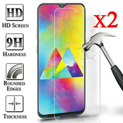 2 For Samsung Galaxy Note 3 4 5 8 9 2X Genuine Tempered Glass Screen Protector