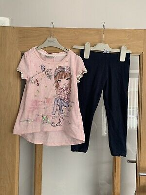 Next Girls Outfit Age 3 Years Top & Leggings