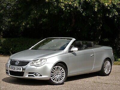2008 Volkswagen Eos 2.0 Tfsi Sport Automatic - Full Leather - Pan Roof - Bargain