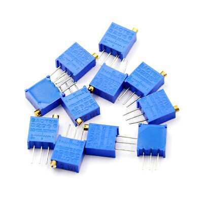10K Ohm Potentiometer Trimmer – Pack of 10