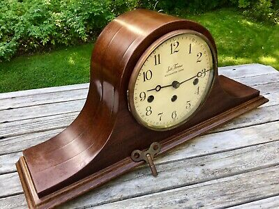 Vintage Seth Thomas Westminster Chime Woodbury 8 Day Wind Clock , GERMANY