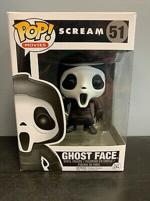 Ghost Face #51 funko pop! scream movie horror Authentic W/ Protector