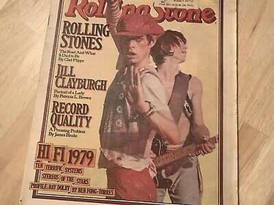 Rolling Stone magazine September 7, 1978 Issue #273 Rolling Stones cover