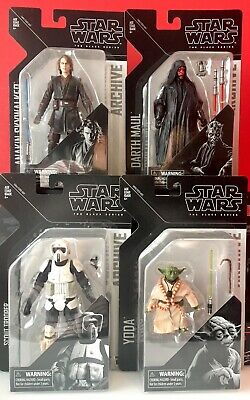 Hasbro Star Wars The Black Series 6 inch Archive Wave 2- LOT of 4 Sealed Figures