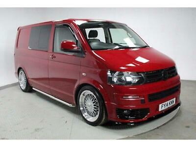 VW T30 Transporter Highline Kombi Cherry Red