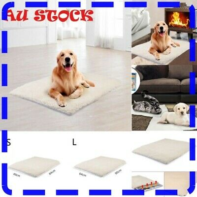 Large Orthopedic Memory Foam Dog Bed With Removable Cover 37 x 24