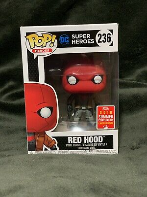 Funko Pop! RED HOOD #236 DC Super Heroes SDCC 2018 Summer Convention EXCLUSIVE🔥