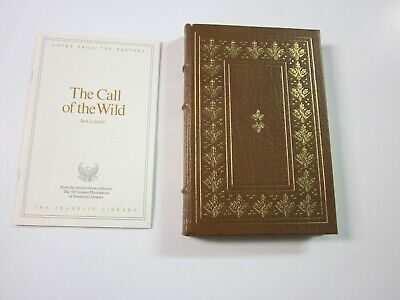 Franklin Library - The Call of the Wild by Jack London 1977 Leather- Illustrated