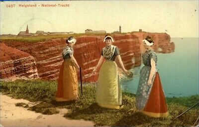 Germany Helgoland 1910 Picture Postcard No.1487 Depicting Traditional Costume