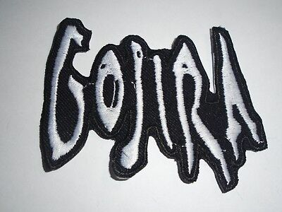 Gojira Iron On Embroidered Patch