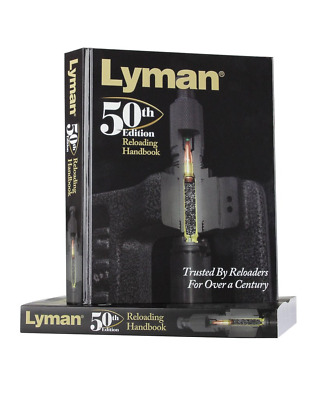 Lyman 50th Edition Reloading Manual Softcover The Largest Selection of Bullets