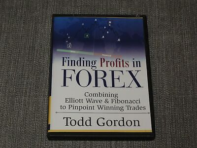 Todd Gordon FINDING PROFITS IN FOREX Combining Elliott Wave and Fibonacci DVD