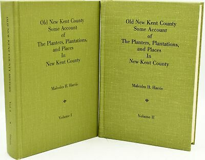 Malcom H Harris / OLD NEW KENT COUNTY SOME ACCOUNT OF THE PLANTERS 1977 #288110