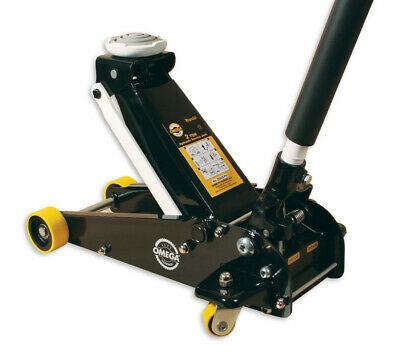 Omega Lift Equipment 2 Ton Light Weight MagicLift Trolley Jack