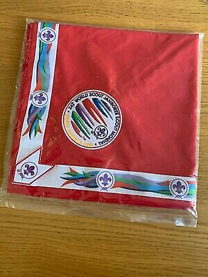 24th World Scout Jamboree Neckerchief 2019 Youth Participant WSJ Uniform RED