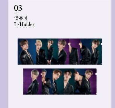 SEVENTEEN 3rd Album 'An Ode' CONCEPT ZONE in SEOUL OFFICIAL GOODS - L-HOLDER
