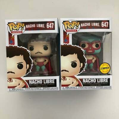 Funko Pop Nacho Libre Lot   #647  Limited Edition Chase Exclusive