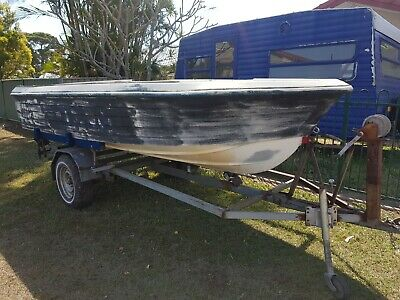 Project Boat 14ft and trailer *Brisbane*