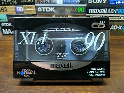 Maxell XLI 90 Blank compact cassette tape Type I
