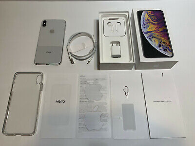 Apple iPhone XS Max 64GB Factory Unlocked - Silver GSM and CDMA networks A1921
